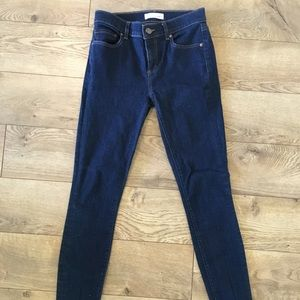 Ann Taylor Loft Denim Leggings skinny Jeans 25 0